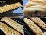Braided Chicken Bread