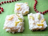 Microwave Kalakand (Indian Milk Fudge/Barfi)
