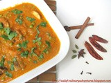 Mushroom Matar ( Mushroom and Peas curry )