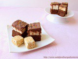 Toasted Coconut Marshmallow Brownies