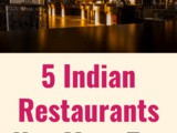 5 Indian Restaurants You Must Try in London