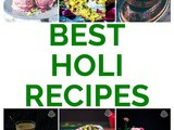 Best 35 Holi Recipes – 2018