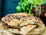 Indian Paneer Stuffed Naan | Video Recipe