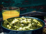 Palak Paneer Recipe | Spinach Indian Cottage Cheese Gravy | Video