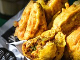 Potato Stuffed Bread Pakora Recipe | How To Make Bread Pakora