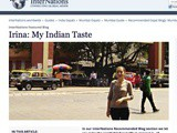My Indian Taste is featured on InterNations – a short expat interview