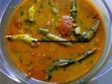 Anchovy Fish Curry using Microwave Oven