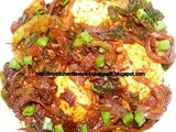 Chilli Egg Masala - Chinese