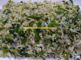 Cilantro (Coriander) Fried Rice