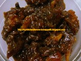 Dates Thokku - an Instant Pickle