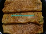 Oats Chilla( Oats BesanFlour Pancake)