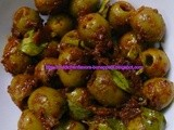 Olive Pickle - a Microwave Recipe