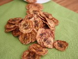 Cinnamon Roasted Banana Chips