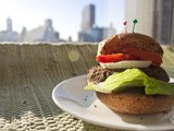 Vegan Protein Burger (Bean, Mushroom and Quinoa Burger)