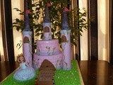 A castle cake for my princess