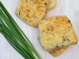 Bacon Cheddar Scones - Bake Along #81 (培根车打芝士司康饼)