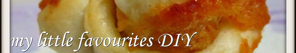 Very Good Recipes - my little favourites DIY