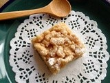 Cinnamon Apple Almond Streusel Squares