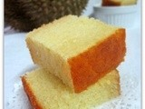 Durian & Cheese Butter Cake..榴莲配芝士牛油蛋糕