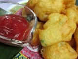Fried Prawn Fritters for Malaysia Food Fest....虾饼献给马来西亚美食节