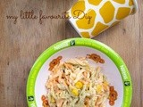 Fusilli Pasta with Tuna and Sweet Corn