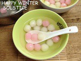 冬至快乐~ Happy Winter Solstice~