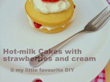 Hot-milk Cake with Strawberry Cream: Bake Along #74
