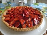 A strawberry tart to beat the blues