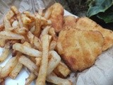 Homemade fish and chips and awards
