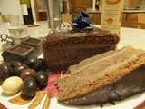 Vida's chestnuts and chocolate cake