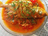 Assam fish (hot and spicy fish)