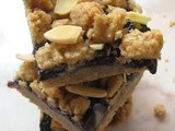 Black Berry Jam Oat Bars
