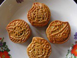 Five Spice Mooncake Biscuit With Red Bean Paste 五香粉口味公仔饼