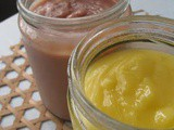 Homemade Strawberry And Lime & Lemon Curd