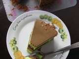 Jaggery Sugar Jelly Layer Cake
