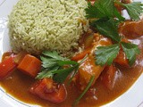Japanese Fish Curry On Pandan Coconut Rice