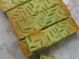 Lime Curd Cream Cheese Bars