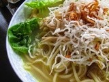 Mee Ayam Soto @ Spiced Chicken Noodle Soup