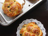 Mini Festive Challah Bread