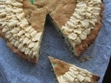 Peanut Butter Cookie Cake ~ Baking With Margarine