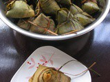 Savory Red Beans Meatless Zongzi @ Rice Dumpling 家翁的传统红豆咸粽