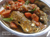 Simple Asam Curry Fish