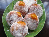 Sufganiyah @ Doughnut With Pumpkin Coconut Jam
