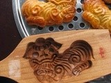 Swirl Coffee Mooncake Biscuit @ 'Gong Zi Bing' 公仔饼