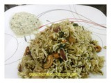Pudhina Pulav/Mint Rice
