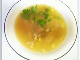 Chicken and Sweet Corn Soup - Donna Hay
