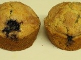 My Meatless Mondays - Blueberry Crumb(less) Muffins