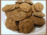 My Meatless Mondays - Double Chocolate Peanut Butter Chip Cookies
