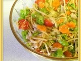 My Meatless Mondays - Oriental Spaghetti Salad