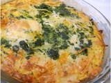 My Meatless Mondays - Potato - Spinach Pie